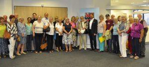 Empfang der Gäste aus Bracknell bei Oberbürgermeister Uwe Richrath am 16.09.2016